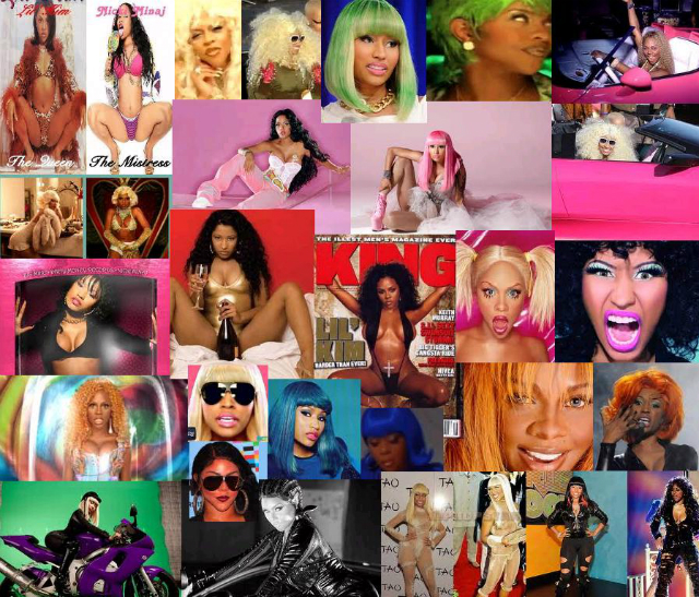 Image result for lil kim nicki minaj