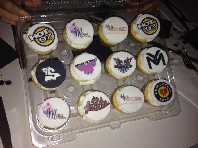 Reena Treats cupcakes