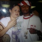 Me and Juelz at his baby shower in 2003