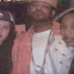 Me x Jim Jones x Kiana in 2003 at some show taping
