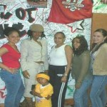 Dip Set store on 151st and Amsterdam! 2003 - Erika, Karen, Juelz' mom Ms Debbie, Maxine, Me and Lil Jah