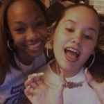 Me rocking my Dip Set chain with Kiana in 03
