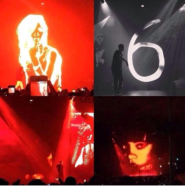 LIT_Rihanna x Drake x OVO Fest 2014