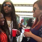 My publicist Shavonne x Ty Dolla $ign x Marisa Mendez