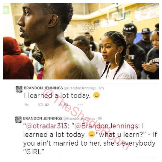 Lashontae dating brandon
