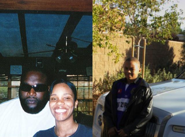 rappers baby mamas - Rick Ross x Tia Kemp x son
