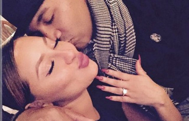 adrienne and lenny dating Adrienne bailon called off her engagement to longtime boyfriend, roc nation executive lenny santiago, in september before she began dating santiago, bailon was well-known for her relationship with reality star rob kardashian.
