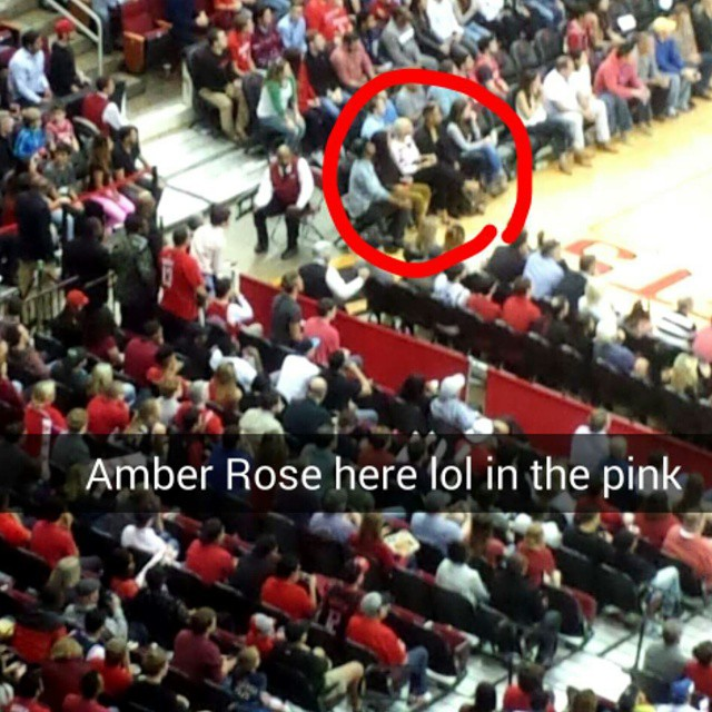 Amber Rose And James Harden