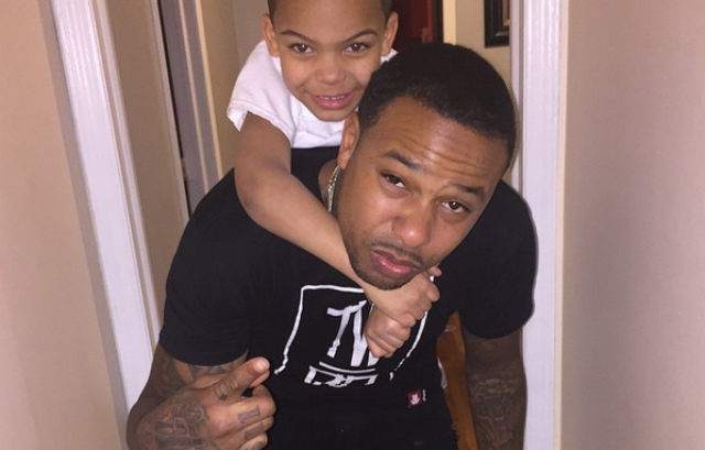 Chinx and his family