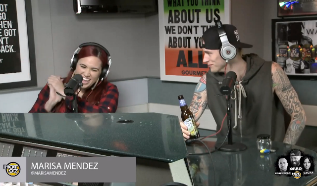 Hot 97 x Marisa Mendez x Machine Gun Kelly_LifeIsTremendez